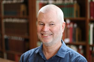 Photo of David Baker, taken by Sarah Boyd