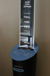 Short Story Vending Machines Installed on Campus Connect UNC Writers and Readers
