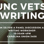 UNC Graduate Students to Lead Inaugural Veterans Writing Workshop