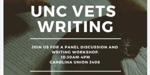 UNC Graduate Students to Lead Inaugural Veterans Writing Workshop