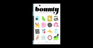 """Cover of the chapbook """"Bounty Everlasting"""""""