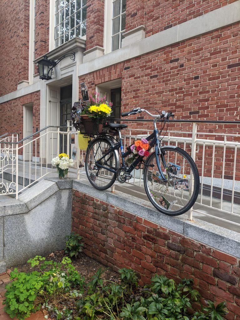 Sally Sasz's bike memorial