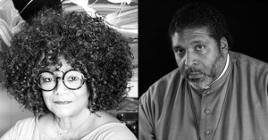 Rev William Barber II and North Carolina Poet Laureate Jaki Shelton Green