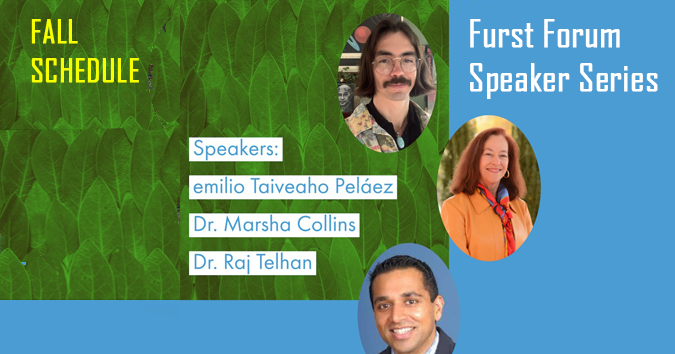 Flyer advertizing Furst Forum in Comparative Literature